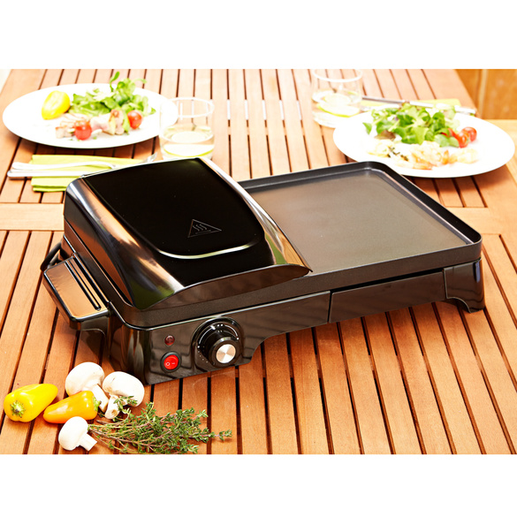 Tischgrill 2-in-1