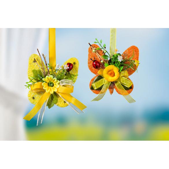 Sisal-Schmetterling gelb