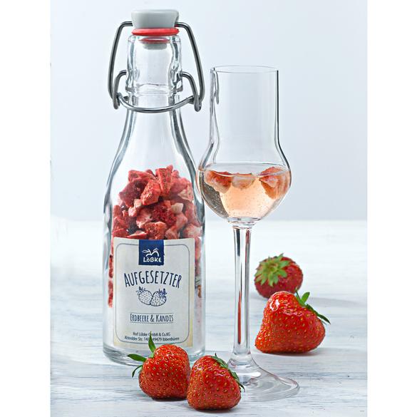 Aufgesetzter Erdbeer & Kandis