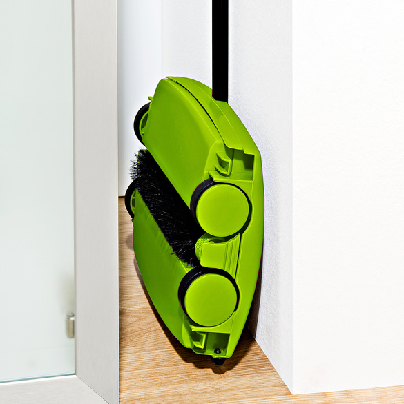 Teppichkehrer grün