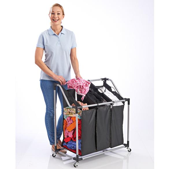 Wäschesortierer auf Rollen
