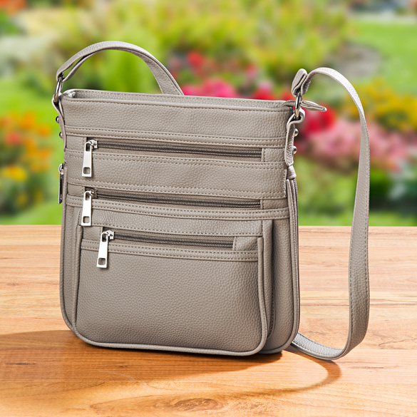 """Tasche """"Rosi"""" taupe"""