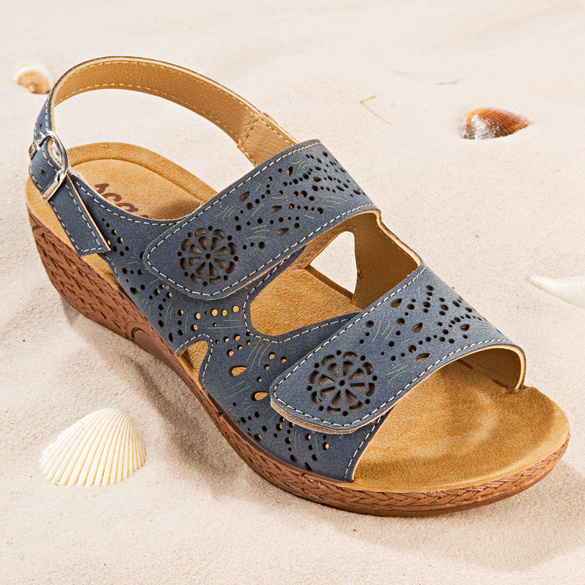 """Sandalette """"Katy"""" blau"""