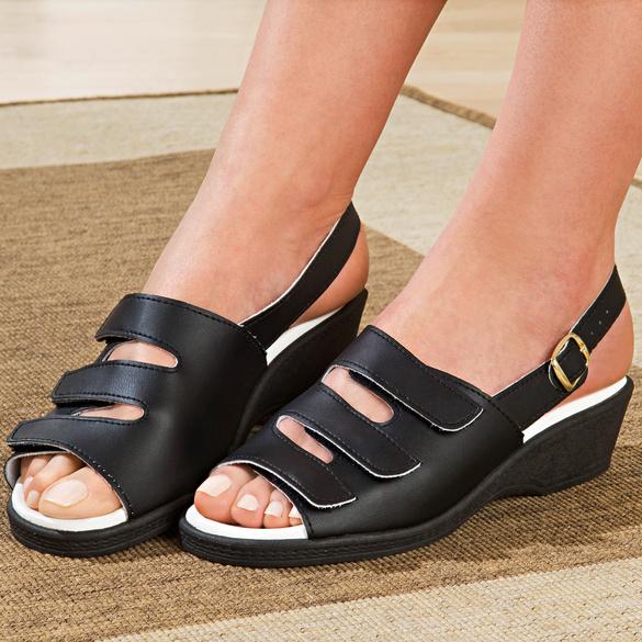 """Sandale """"Maja"""" schwarz"""