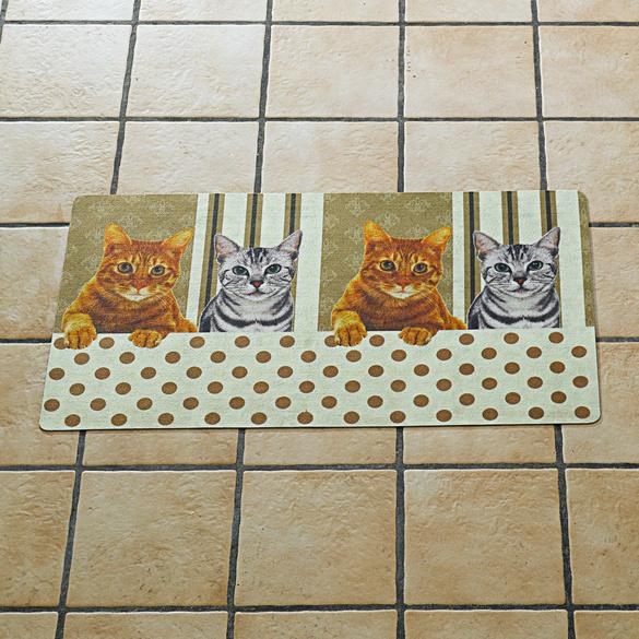 """Küchenteppich """"Kätzchen"""", 50 x 90 cm"""