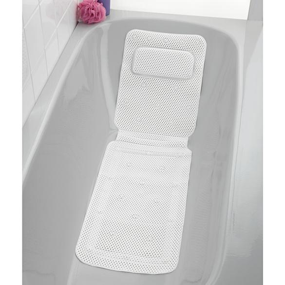 Komfort-Badewanneneinlage weiß