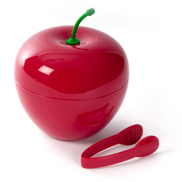 """Eiswürfel-Behälter """"Kirsche"""" rot"""