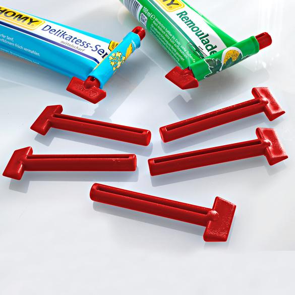 Tubenschlüssel rot, 5er-Set