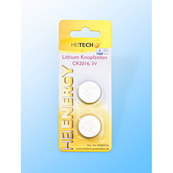 2 Lithium-Knopfzellen 75 mAh