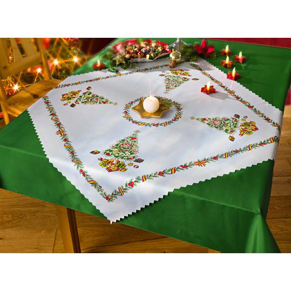 """Weihnachts-Tischdecke """"Tannenbaum"""""""
