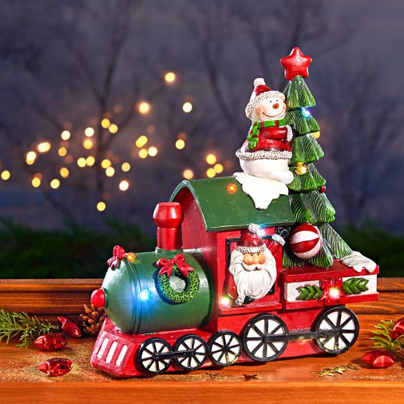 LED-Weihnachtszug mit Musik