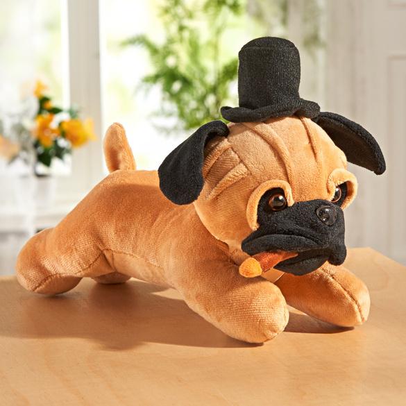 Musik-Hund mit Hut