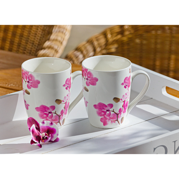 "Kaffeetasse ""Orchidee"""