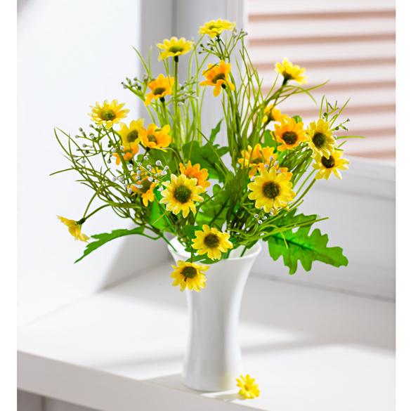 Wiesenblumenstrauß gelb