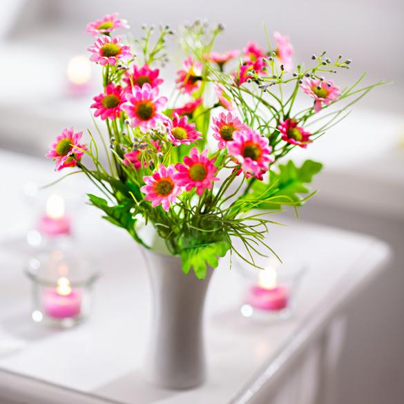 Wiesenblumenstrauß rosa
