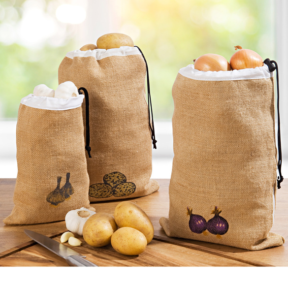Jutesack für Kartoffeln