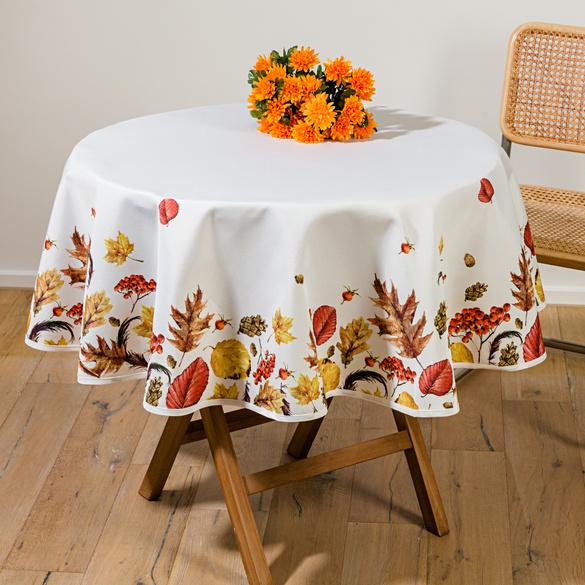 """Tischdecke """"Herbst"""" Ø 150 cm"""