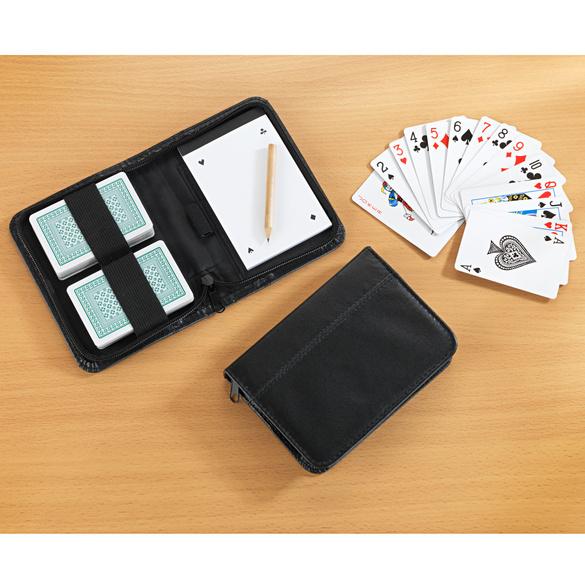 Etui mit Spielkarten