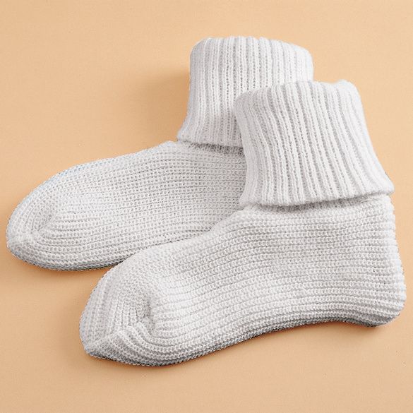 Thermo-Socken weiß