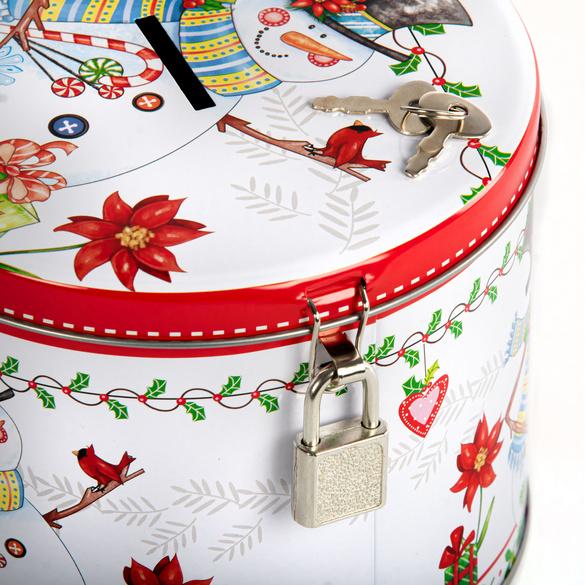 Weihnachtstasse + Blechdose, 2er-Set