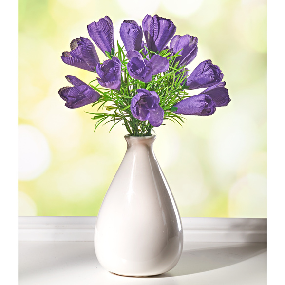 "Blumenstrauß ""Krokusse"" lila"