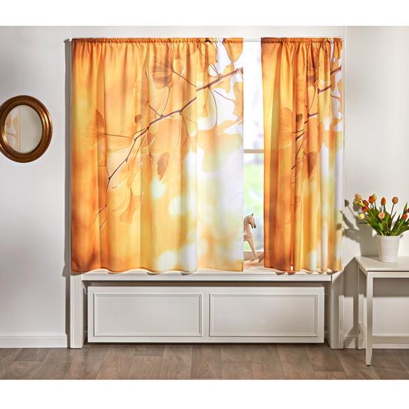 """Vorhang """"Blütenzweig"""", 140 x 140 cm"""