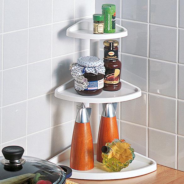 Küchen Eckregal Weiß