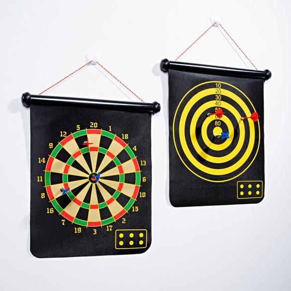 Magnet-Dart mit 2 Zielscheiben