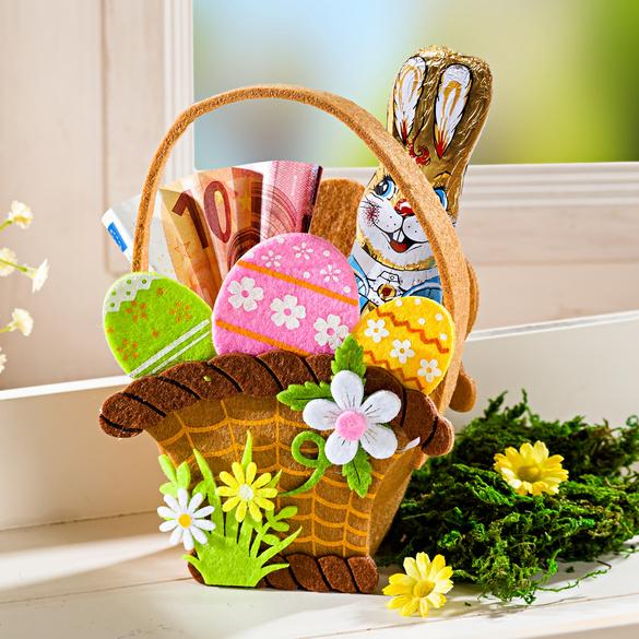 Geschenkkörbchen für Ostern