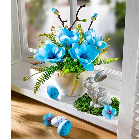 Blumen-Arrangement im Topf