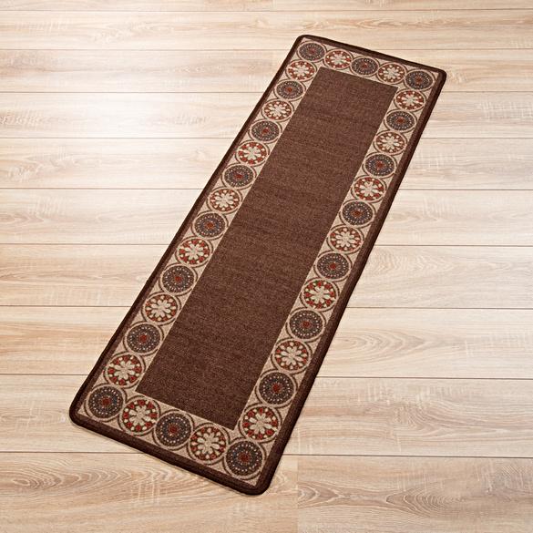 Teppich braun, 50 x 150 cm