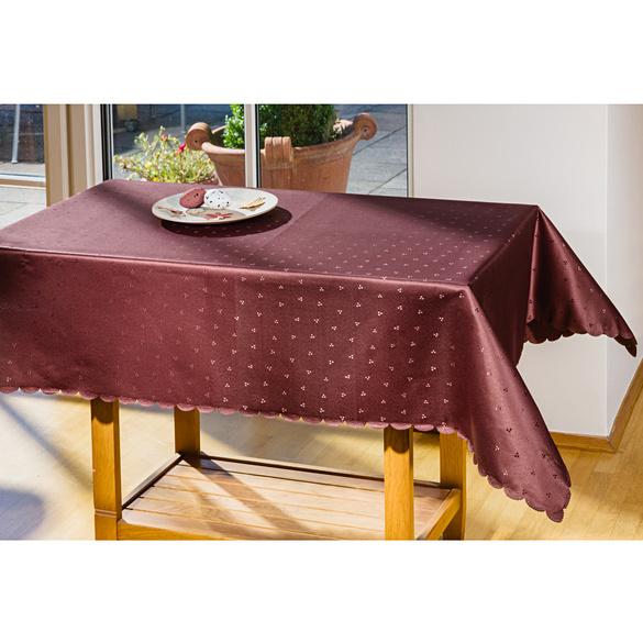Tischdecke braun, 110 x 140 cm
