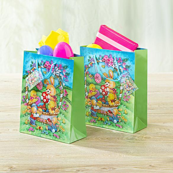 Oster-Geschenktüten, 2er-Set