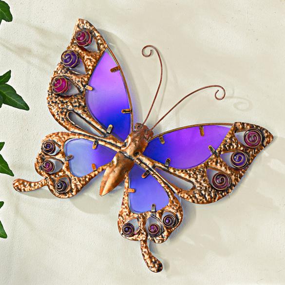 Deko-Schmetterling  purpur, 25 cm