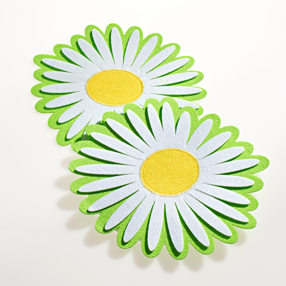 "Platzdeckchen ""Blume"", 2er-Set"