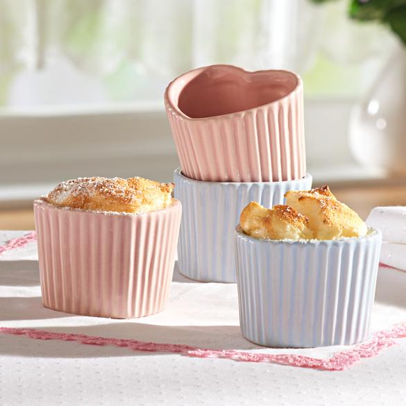 """Muffin-Förmchen """"Herz"""", 2er-Set"""