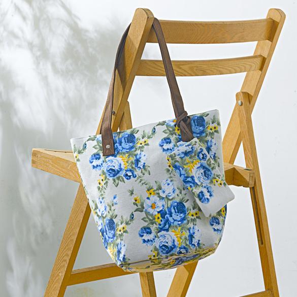 """Tasche + Etui """"Blumen"""""""