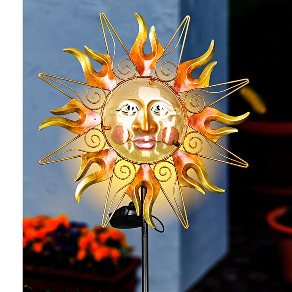 """Solarstecker """"Sonne/Mond"""