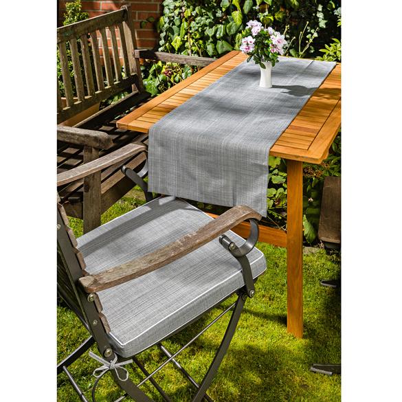 Tischläufer grau 40 x 140 cm