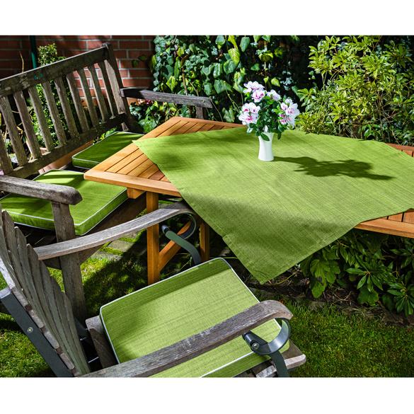 Mitteldecke grün 85 x 85 cm
