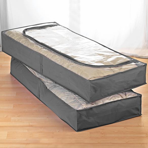Unterbett-Kommoden grau