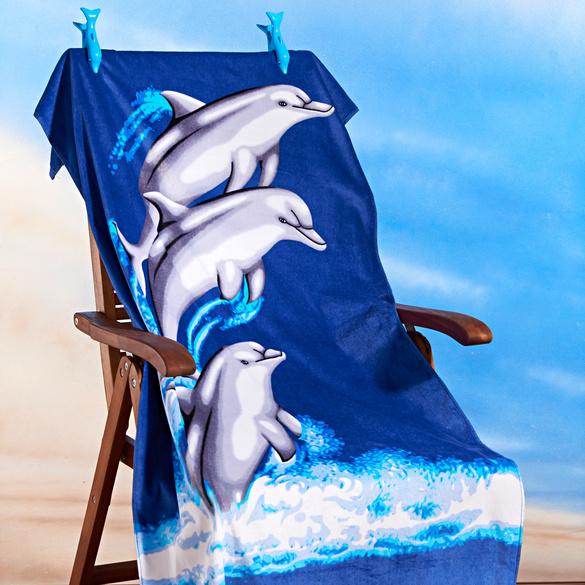 """Handtuch-Clips """"Delfin"""", 2er-Set"""