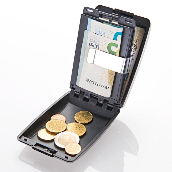 Geld-/Kartenbörse kupfer