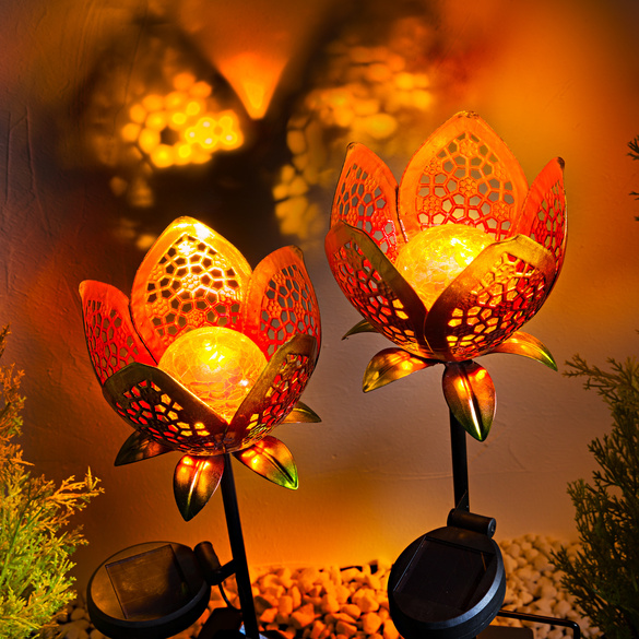 Solar-Blütenstecker
