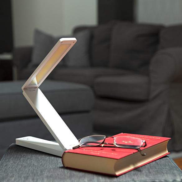 Faltbare Schreibtischlampe