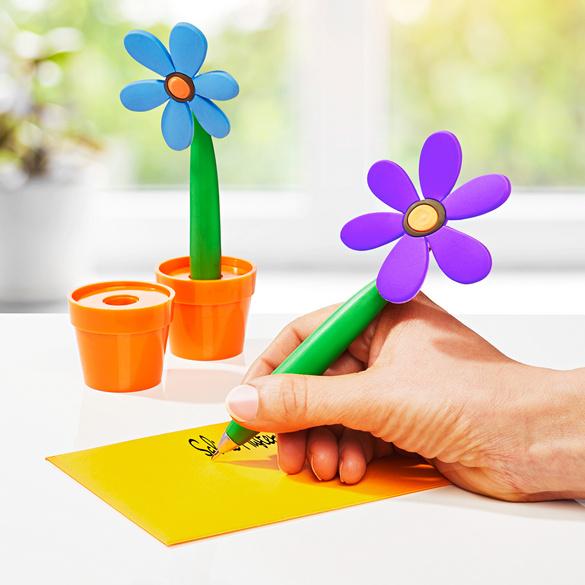 "Kugelschreiber ""Blume"", 2er-Set"