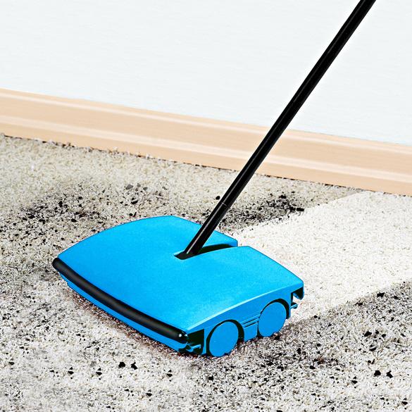 Teppichkehrer blau