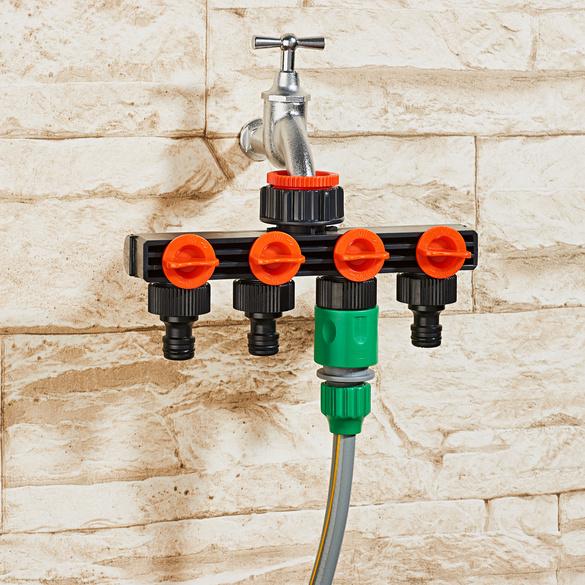 4-Wege-Wasserverteiler