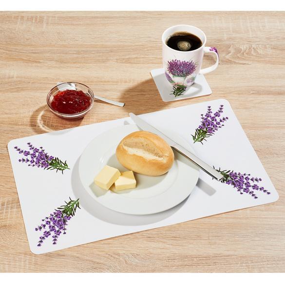 "Platz-Set ""Lavendel, 12-tlg,"