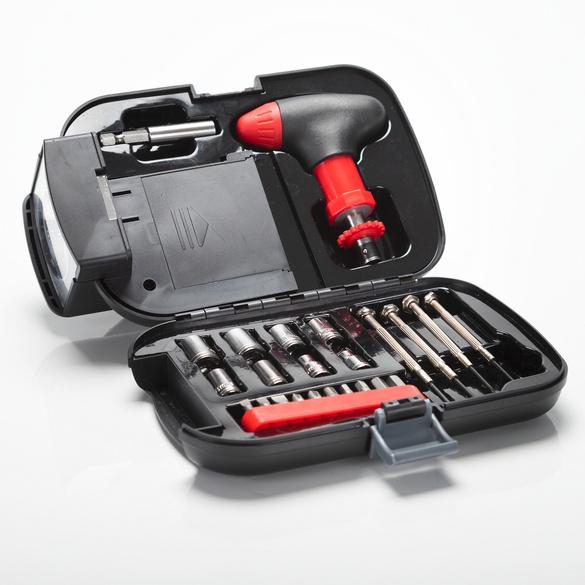 Werkzeugkasten mit Taschenlampe, 12-tlg.